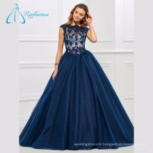 Tulle Ball Gowns Lace Appliques Scalloped Quinceanera Dresses