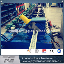 Customized solar photovoltaic bracket roll forming machine with online hole punching