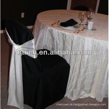 Pintuck Taft Tischdecke für Hochzeit