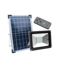 Focos de seguridad alimentados por energía solar