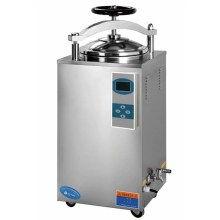 Hand open digital display vertical autoclave 50l