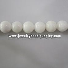 new white ball shape fresh water shell