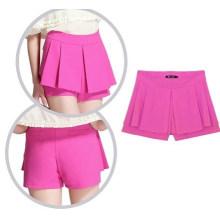 Novas mulheres verão moda saia shorts (fs5810)