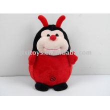 soft stuffed toy ladybug