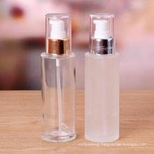 Frosting Cosmetic Bottle /Lead-Free Glass Spray Bot/Thick Bottom Emulsion Bottle /Glass Liquid Transparent Bottles/Disinfectant Bottle