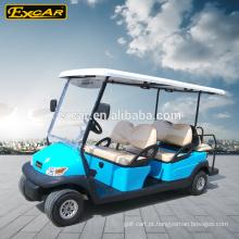 Preço competitivo do chassi elétrico do alluminum do carro do golfe de 6 assentos