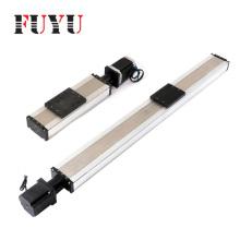 Double linear guide rail precision linear actuator