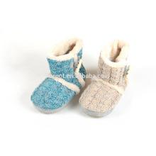 high quality modern design plush slippers sock slippers