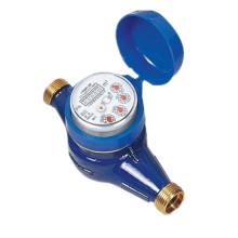 Super Dry Type Brass Body Water Meter Dn20mm