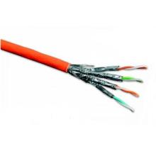 Câble Ethernet CAT6A haut de gamme avec 10g de données 500MHz Cuivre recuit