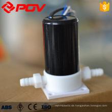 Mikro-Miniatur-Magnetventil aus Kunststoff mit säurehaltigem Niederdruck