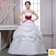 El vestido multicolor del vestido multicolor del vestido de bola hincha appliques el vestido de boda barato de las ventas al por mayor
