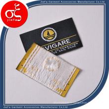 Étiquettes de vêtement tissées personnalisées / étiquette tissée