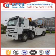 8 * 4 Sinotruk Howo Winch Tow camiones para la venta