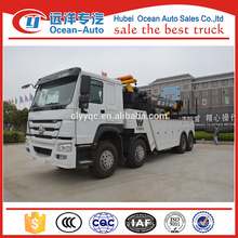8*4 Sinotruk Howo Winch Tow Trucks For Sale