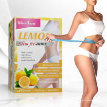 Private Lable Instant slim fruit juice powder diet herbs supplement Weight loss Detox juice