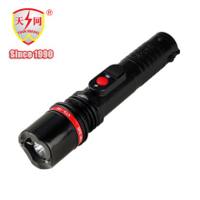 Solid Police Security Flashlight with Wrist-Strap