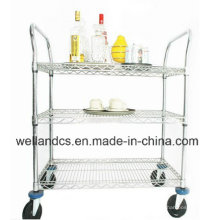 Restaurante Hotel Metal Bar Trolley (HD244836A3CW)