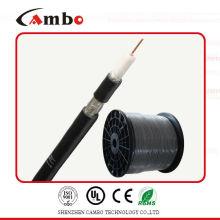 Certificación UL rg6 cable coaxial para el sistema de cctv