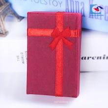 пользовательские мелкие производители ювелирных изделий подарочная коробка бархата коробка подарка для мужчины и женщины часы