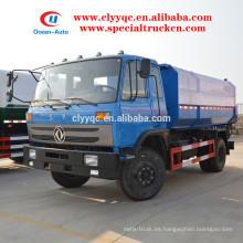 2015 nuevo Condición Recolector de basura hidráulico con capacidad de 12cbm