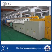 Extrusion de profil en plastique PVC bois