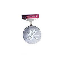 3D Custom logo zinc alloy die cast metal badge