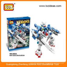 LOZ crianças brinquedo educacional robôs