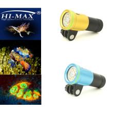 Hi-max V11 Led Широкоугольный видео для подводного плавания
