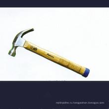 Американский Тип молоток с раздвоенным хвостом с деревянной ручкой Geid
