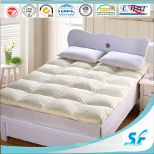 Lifestyle Baffle Box Bed Hollow Fiber Mattress Topper
