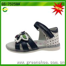 2016 novo design menina sandália sapato verão
