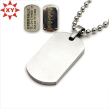 Vente chaude Gravure Logo personnalisé Dog Tags Made in China (XY-MXL73009)