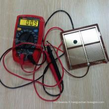 Silicone électriquement conducteur