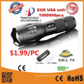 G700 CREE Xm-L T6 LED Tactical Zoomable Flashlight