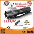 G700 CREE Xm-L T6 LED Тактический Zoomable Фонарик