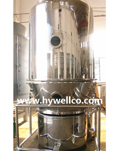 Fluidizing Granule Dryer