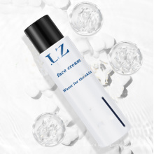 Crema personalizada antiarrugas de belleza facial para blanquear la piel