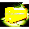 6X4 Dongfeng truck amounted mobile garbage waste bin compactor /garbage truck box / garbage compressor