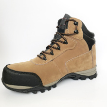 High Quality Light weight Comfortable Non Slip Genuine Leather Safety Shoes For Men Work Safety Protective Shoes