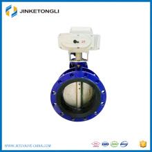 Flange type motorized butterfly valve AC220v electric butterfly valve