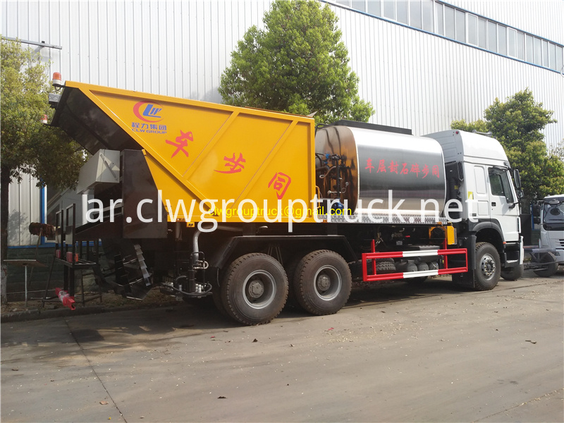 Synchronous Sealer Gravel Truck 2