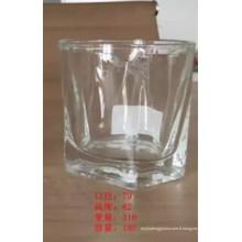 Coupe en verre de fantaisie de haute qualité, verrerie de verre Kb-Hn07709