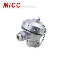 Cabezal de conexión de termopar de aleación de aluminio tipo MICC KSC