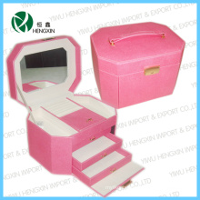 Hot Quality Leather Cosmetic Case (HX-PP126)