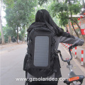 Black Outdoor Use Market Padded Solar Bag