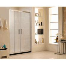 C14 écran de douche de salle de douche coulissante avec norme australienne