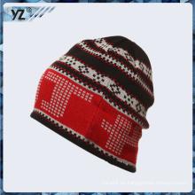 Colorido sombrero 100% Algodón beanie en buena calidad