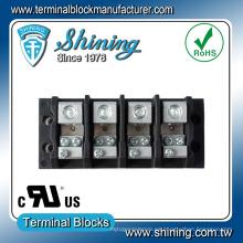 TGP-050-04JSC Conector de bloque de terminales UL de 3 hilos de 50 amperios de 4 posiciones