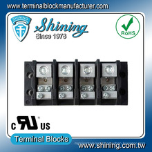 TGP-050-04JSC 3 Wire 50 Amp 4 Position UL Terminal Block Connector